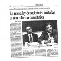 Conferencia sobre la Ley de Sociedades de Responsabilidad Limitada