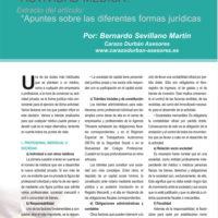 Formas jurídicas de ejercer la actividad médica privada